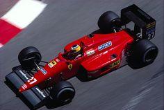 f1pictures:  Michele Alboreto  Ferrari 1987