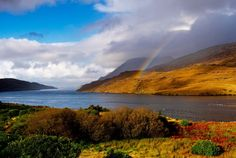 rainbow Killary Harbour Island - Galway