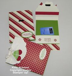 Gift Card Holder Box Tutorial - I pinned this but I don't quite get it. Need more pics or a video to understand so I'll hang on to this & hope somebody comes up with a more informative tutorial.