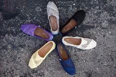 Closer to real color of Sprint Crochet Toms for 2013