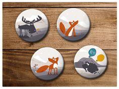 Les magnets Cats à associer avec les stickers