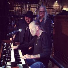Gregg Allman - The Allman Brothers Band With Gary Rossington & Rickey Medlocke Of The Lynyrd Skynyrd Band