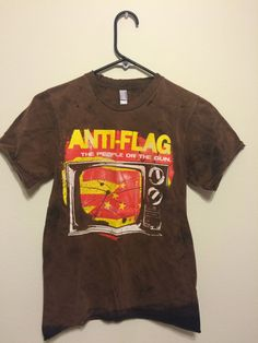 Anti-Flag Distressed Band Tee