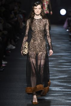 LOVE..minus the fur. Blumarine Fall 2016 Ready-to-Wear Fashion Show
