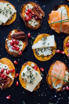 You Won't Even Miss the Bread with These Sweet Potato Crostini