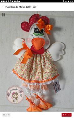 Foam Crafts, Fabric Crafts, Diy Crafts, Kitchen Ornaments, Chicken Crafts, Plastic Bag Holders, Farm Fun, Rooster Decor, Chickens And Roosters
