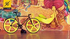 Bike fixa customizada Speedbee da Pedaleria