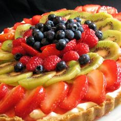 Ina Garten's Fruit Tart Recipe, made this last night and it is fabulous!!!