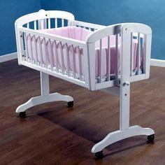 Sorelle Standa Cradle w/ Mattress -  Sorelle Bassinets & Cradles - Nurzery.com - 1
