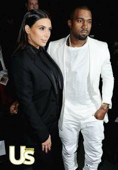 Kim Kardashian and Kanye - beautiful couple - #style #beauty #luxury #lifestyle
