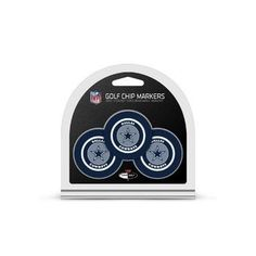 Dallas Cowboys Golf Chip with Marker 3 Pack