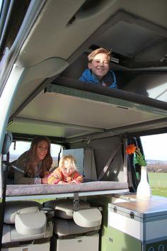 """Terra Camper präsentiert den Fernreise-tauglichen Camper für Familien: Den """"langen"""" Tecamp auf Basis des VW T5 mit langem Radstand. ..."""
