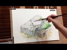 맑은 수채화의 5가지 비법 5 ways to do clear watercolor painting - YouTube Painting Lessons, Painting Tips, Watercolour Painting, Watercolor Pencil Art, Acrylic Painting Tutorials, Watercolour Tutorials, Painting Videos, Watercolor Techniques, Painting Techniques