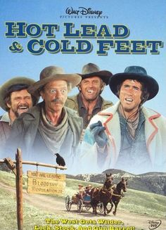 Hot Lead Cold Feet. Old Disney. Jim Dale. Darren McGavin. Karen Valentine. Don Knotts.