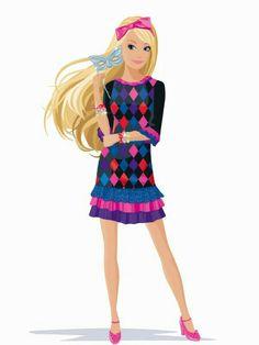 Cartoon Art, Cartoon Illustrations, Barbie Coloring Pages, Barbie Images, Barbie Movies, Barbie Party, Barbie Fashionista, Disney Art, My Children
