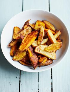 Smoky mixed-potato wedges | Jamie Oliver | Food | Jamie Oliver (UK)
