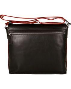 BALLY Triar-MD Messenger Bag Chocolate hos CareOfCarl.com