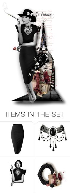 """Elegance Is Timeless"" by mari-777 ❤ liked on Polyvore featuring art"