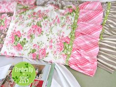 Tutorial: Romantic Ruffled Pillowcases   Now I CAN have the beautiful bed linens I though I couldn't afford   Sew4Home