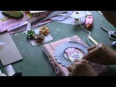 SCRAPBOOKING: Caderno de assinaturas 15 anos tutorial parte 4 final