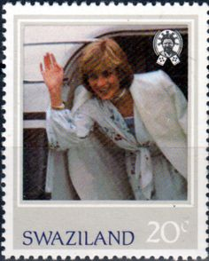 1982 Swaziland Diana 21st Birthday Set Fine Mint SG 404 7 Scott 406 9 Other Diana Stamps HERE