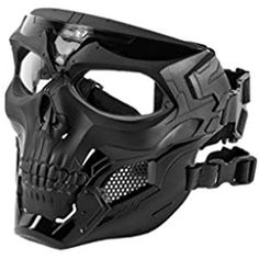 Tactical Wear, Tactical Clothing, Airsoft Helmet, Airsoft Face Mask, Tactical Helmet, Futuristic Armour, Skull Mask, Skull Helmet, Ninja Weapons