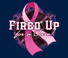 Firefighter Breast Cancer Awareness T-Shirts | WorkPlacePro