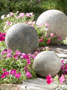 Originelle Gartengestaltung - Verwandeln Sie Beton in eine schöne Gartendeko!