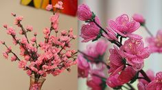 French beaded flowers: Cherry Blossoms PART 2