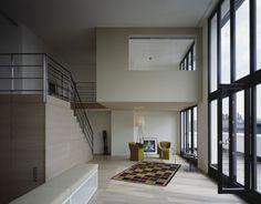 Penthouse-Maisonette-Wohnung, Wohnbereich - townhouse v19 - Appartmenthaus in Hamburg Ottensen