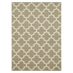 Maples Fretwork Area Rug also available in navy
