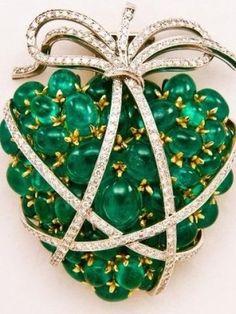 Verdura Emerald heart by Janny Dangerous
