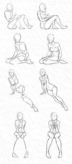 Woman Stock Practice 5 - Kinda Sitting by Azizla on DeviantArt