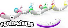 Fruitdoos Fruit Friends, Banaan | ref. G-255510 | Paradisio
