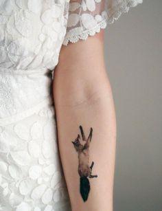 little fox tattoo