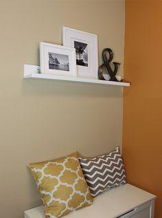 Amazon.com: InPlace Shelving 9084678 Picture Ledge Floating Shelf, 36-Inch Long, White: Home Improvement