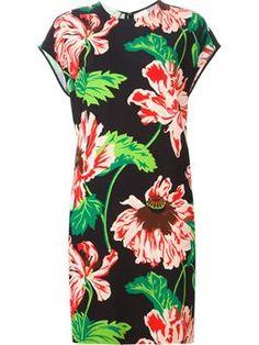 'Ada' floral dress $1,057 #Farfetch #style #DesigerClothing