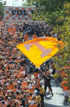 Gameday prep #tennessee #vols...the most awesome atmosphere!!