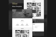 Check out Wee One Page Muse Template by ShakeDesign on Creative Market
