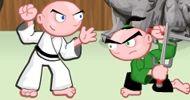 Dövüş oyunları kategorisinde yer alan Karateci Çocuk adını verdiğimiz bu dövüş oyununda, kontrol edecek olduğunuz çocuk ile dövüşerek başarılı olamaya çalışın.