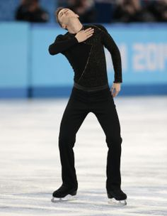 DAY 8:  Jeremy Abbott of the United States competes during the Figure Skating Men's Free Skate http://sports.yahoo.com/olympics
