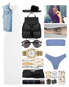 """""""Untitled #1011"""" by sabri-belieber ❤ liked on Polyvore featuring Rolex, T By Alexander Wang, Christian Dior, Yves Saint Laurent, Eugenia Kim, Cartier, Frame, Sonix and Givenchy"""