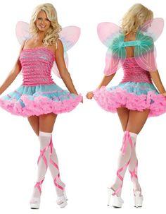 Image of Pretty Glitter Fairy Costume