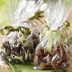 Chocolate-Drenched Chipotle-Roasted Nuts - I found this recipe in the 2008 Christmas with Southern Living book - excellent for gifting
