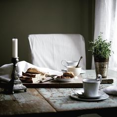 Rustic table. Jo Headington