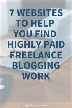 Freelance bloggers! Check out these 7 popular websites people use to find highly paid freelance blogging work  #blogging #freelanceblogging #makemoneyonline Editing Writing, Writing Skills, Writing Tips, Make Money Online, How To Make Money, Network Marketing Tips, Freelance Writing Jobs, Make Money Writing, Online Jobs