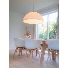 (Tip) - Lampentoppers. Dining Room Lighting, Lamp, House, Minimal Home, Home, Large Pendant Lighting, Concrete Lamp, Cozy House, Home Decor