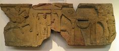 Relief of a frieze from a temple of Jupiter Dolichenus, Corbridge Museum | Roman Britain