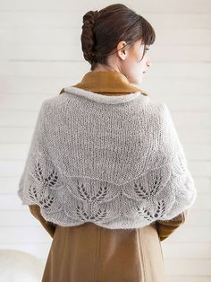 Hydrus | Berroco- free pattern- interesting lace edge