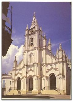 Church Santo Angel Custodio Havana Cuba, build in 1695, Felix Varela and Jose Marti were baptized in that church.